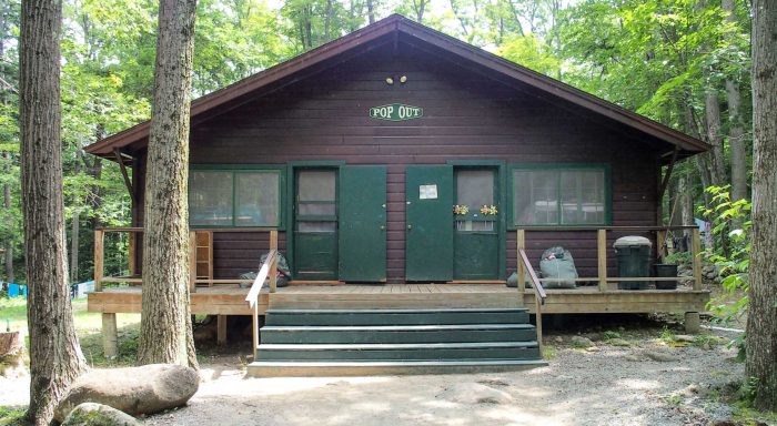 Girls cabin exterior