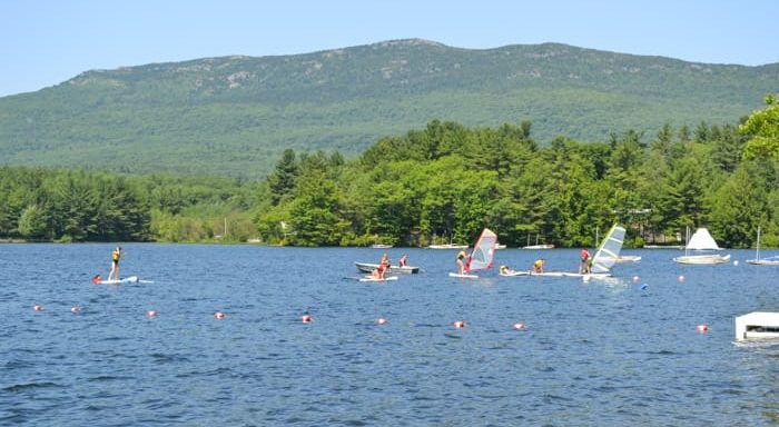 Wa-Klo lake and Mount Monadnock