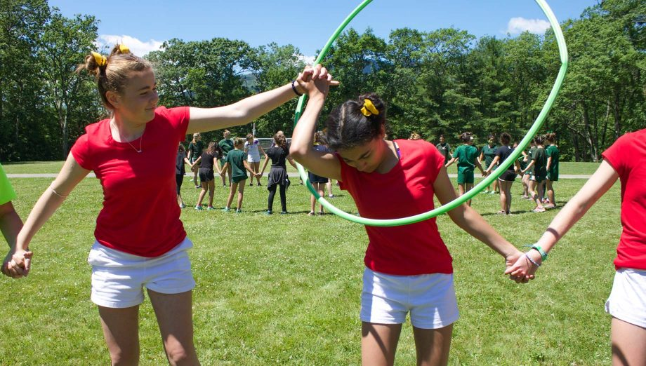 Hula hoop competition