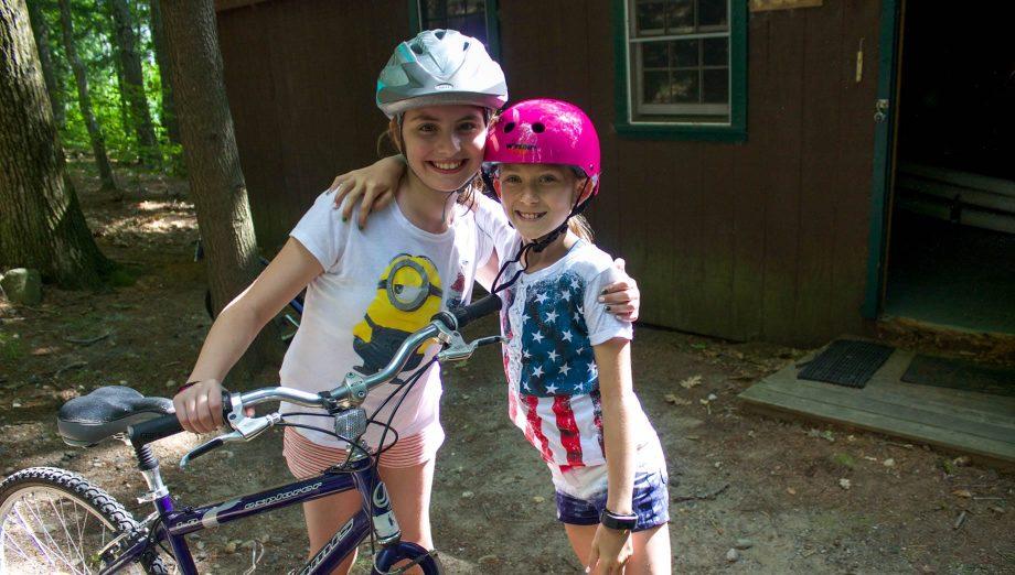 Biking on Rookie Day